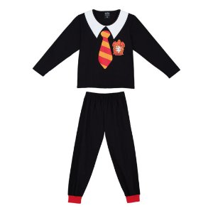 Pijama Harry Potter - Grifinória - Lupo