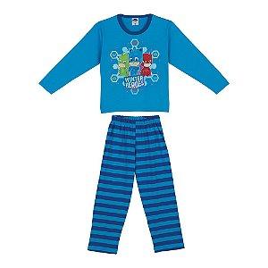 Pijama PJ Masks - Azul - Lupo