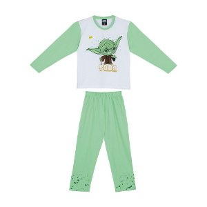 Pijama Star Wars Yoda - Disney - Lupo