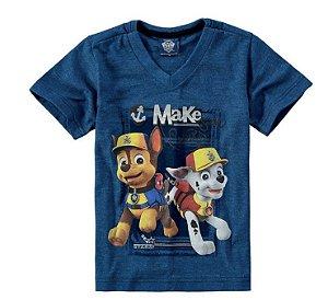 Camiseta da Patrulha Canina - Marshall e Chase - Malwee