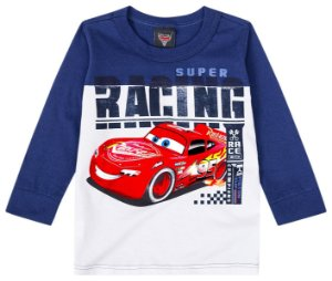 Camiseta Mcqueen - Azul Marinho - Malwee