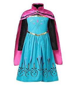 Fantasia da Frozen da Elsa na Coroação - Exclusiva