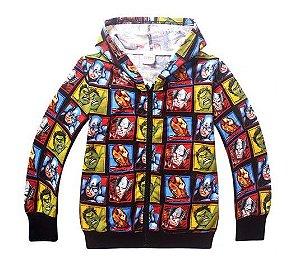 Casaco dos Vingadores - Coleção Super Heróis