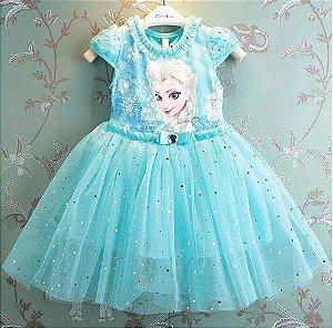 Vestido Elsa - Frozen