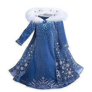 Fantasia de Super Luxo Especial da Elsa Frozen