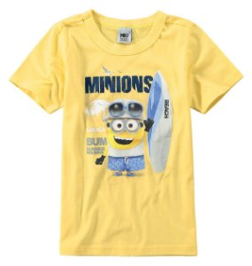 Camiseta dos Minions - Beach - Malwee