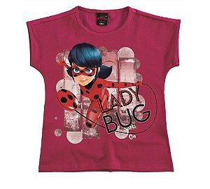 Blusa Ladybug - Miraculous - Rosa - Malwee