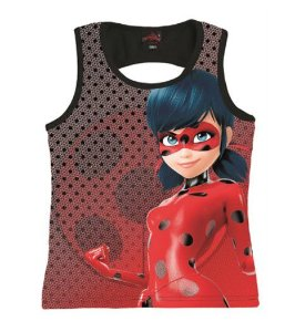Blusa Regata Ladybug - Miraculous - Malwee