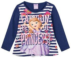 Blusa Princesa Sofia - Disney - Listrada - Malwee