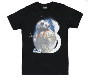 Camiseta BB8 - Star Wars - Malwee