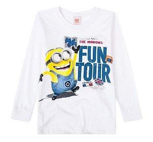 Camiseta dos Minions - Branca - Malwee