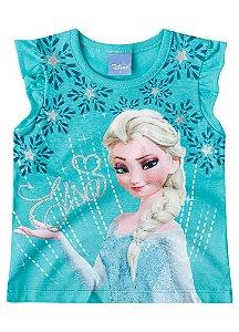 Blusa Elsa - Frozen Disney - Verde
