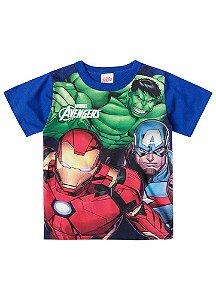 Camiseta Avengers - Azul - Brilha no Escuro
