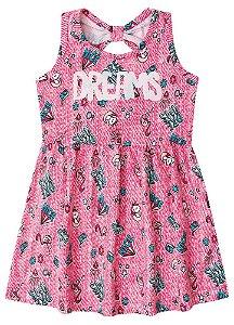 Vestido Unicórnio Dream - Rosa