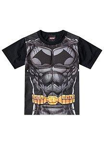Camiseta Batman Músculos - Preta - Brandili