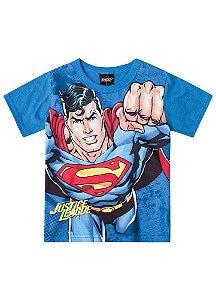 Camiseta Superman - Liga da Justiça - Brilha no Escuro