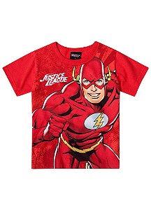 Camiseta Flash - Liga da Justiça - Brilha no Escuro