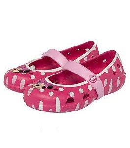 Sapatilha Crocs da Minnie - Rosa