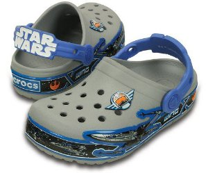 Crocs Lights Star Wars X-Wing