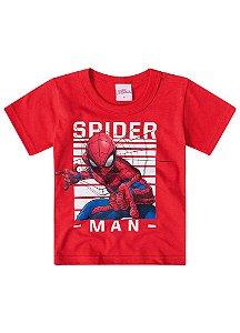 Camiseta do Homem Aranha - Vermelha - Brilha no Escuro - Brandili