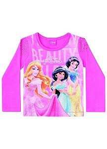 Blusa Princesas da Disney - Rosa