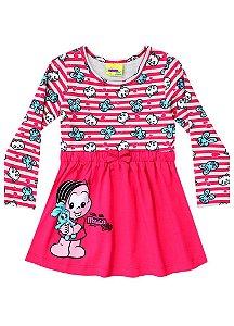Vestido Mônica Baby  - Vermelho