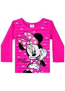 Blusa da Minnie - Disney Baby - Pink