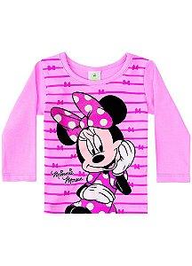 Blusa da Minnie - Disney Baby - Rosa Claro - Brandili