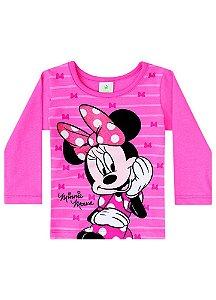 Blusa da Minnie - Disney Baby - Salmão