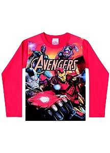 Camiseta Avengers - Marvel - Vermelha