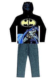 Conjunto de Jaqueta e Calça de Moletom - Batman