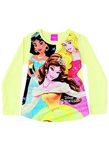 Blusa das Princesas - Disney - Amarela