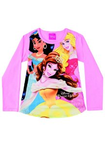 Blusa das Princesas - Disney - Rosa