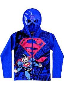 Jaqueta de Moletom - Superman - Azul - Brandili