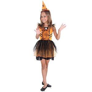 Fantasia da Bruxa Aranha - Halloween