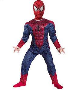 Fantasia Luxo do Homem Aranha