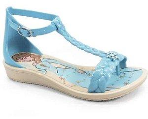 Sandália de Dedo - Disney Frozen - Azul