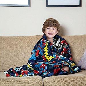 Manta Infantil do Homem Aranha (Spiderman)