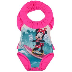 Maiô Minnie Disney  - Rosa - Tiptop