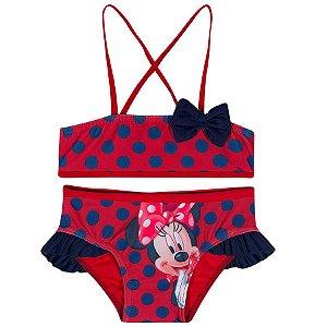 Biquini da Minnie - Disney - Vermelho