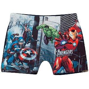 Sunga Boxer do Avengers - Azul Marinho