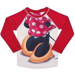Camiseta Proteção UV 50 FPS  - Minnie - Disney