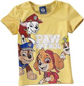 Blusa da Patrulha Canina - Amarela