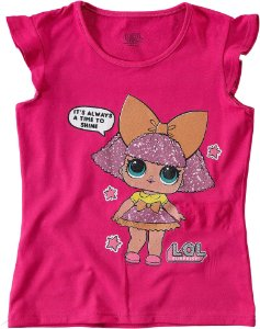 Blusa LOL Surprise - Glitter Queen