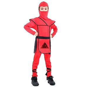 Fantasia de Ninja Vermelho