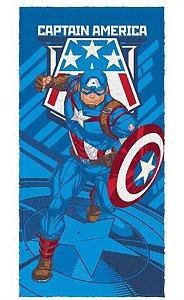 Toalha Felpuda do Capitão América - Avengers