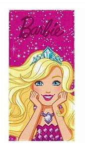 Toalha Felpuda da Barbie Princesa
