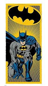 Toalha Felpuda do Batman - Amarela