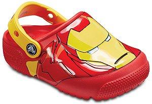 Crocs do Homem de Ferro -Avengers - com Luzinhas Piscantes