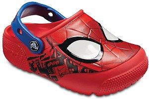 Crocs do Homem Aranha -Spiderman - com Luzinhas Piscantes
